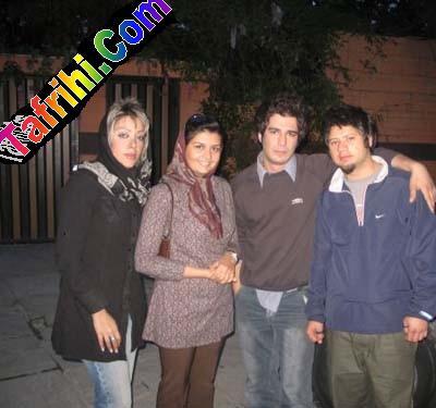 علی صادقی  ویوسف تیموری با دوست دختراشون