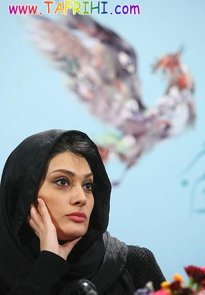 سودابه بيضايي در نشست مطبوعاتي فيلم عروس برفي